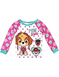 Paw Patrol Little Girls Paw Some! Long Sleeve Cotton...