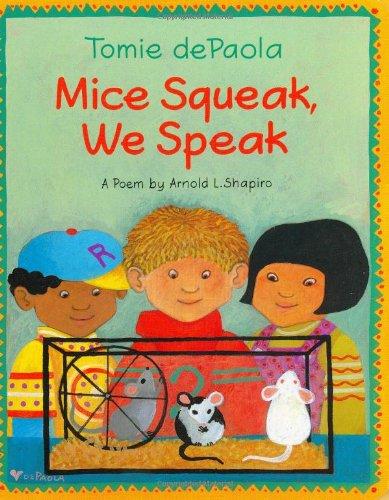 Mice Squeak, We Speak Board Book PDF