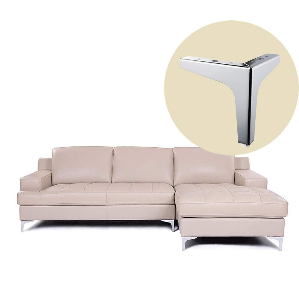 Amazon.com: Patas de metal para sofá – 6 pulgadas de ...