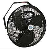 18'' Durafan Indoor/Outdoor Non-Oscillating Wall Mount Fan