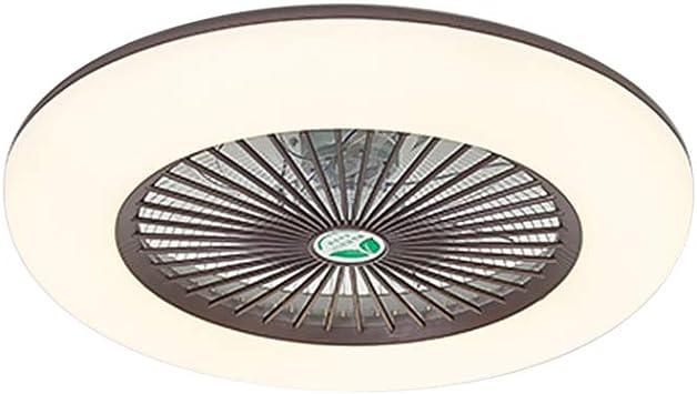 Lixada 36W Luz de Techo LED Lámpara de Pared Moderna Ventilador de Techo Ajustable con Control Remoto sin Batería ...