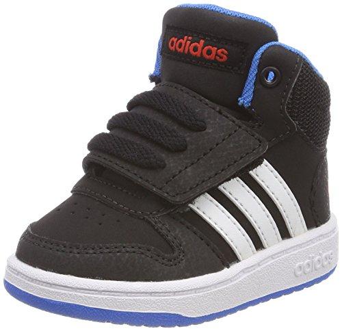 2 Deporte Para Zapatillas 0 negbas Unisex Hoops Mid Niños Negro Ftwbla I Adidas 000 Azubri De qnE0WBwCHz