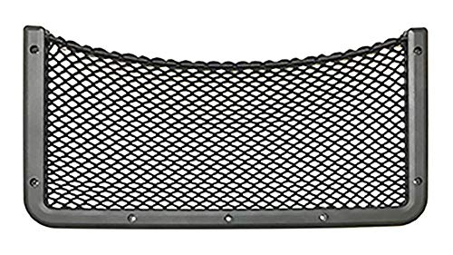 Framed Stretch Mesh Net Pocket for Auto, RV, or Home Organization and Storage (8