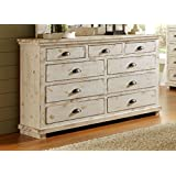 Amazoncom Distressed Dressers Bedroom Furniture Home Kitchen