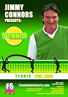 jimmy connors presents tennis fundamentals for kids