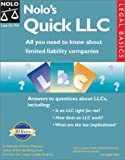 img - for Nolo's Quick LLC: All You Need to Know About Limited Liability Companies (Legal Basic Series) book / textbook / text book