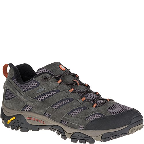 Merrell Men's Moab 2 Waterproof Hiking Shoe, Beluga, 10.5 W US