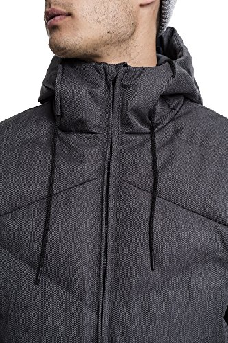 para Blk Gry Hooded 119 Chaqueta Heringbone Classics Mehrfarbig Hombre Winter Jacket Urban fwvYznq