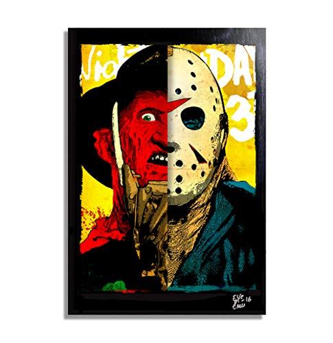 Jason Voorhees and Freddy Krueger - Pop-Art Original