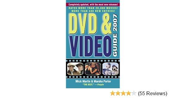 DVD & Video Guide 2007: Mick Martin, Marsha Porter