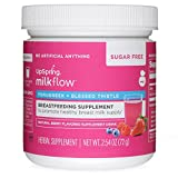 UpSpring Milkflow Fenugreek and Blessed Thistle Berry Sugar Free Drink Mix Non-GMO