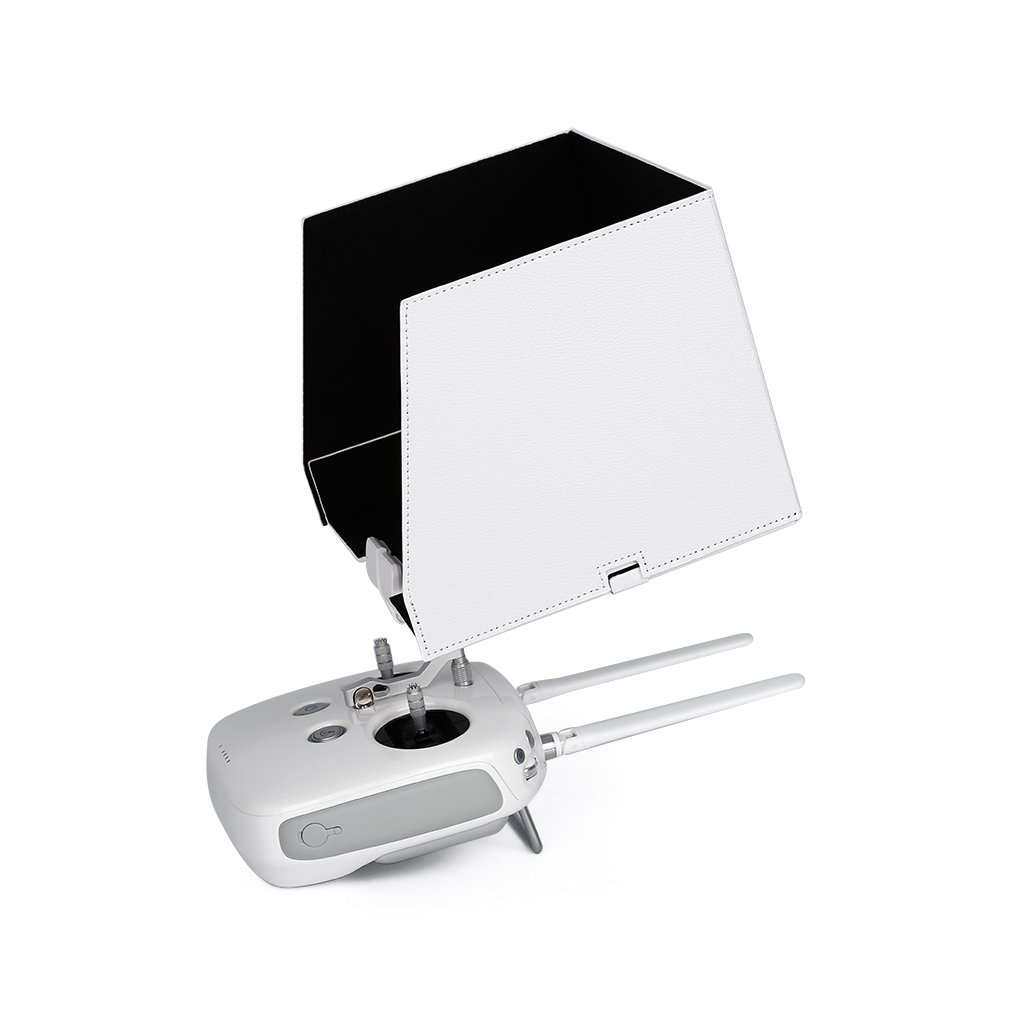 Fits iPad Air 2, iPad Air, 9.7'' Tablet FPV Monitor Sunshade Sun Hood for DJI Phantom 3 Transmitter Remote Controller Quick Release iPad Holder Clip Mount
