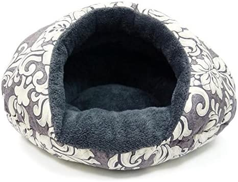 DOGO Burger Bed Small Dog Snuggle Bed – Vintage