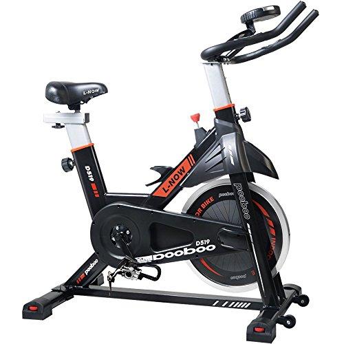 Pooboo Indoor Cycling Bike Belt Drive Pro Exercise Bike