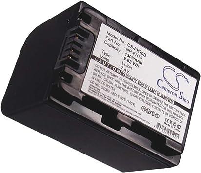 Replacement Battery for CR-HC51E DCR-30 DCR-DVD103 DCR-DVD105 DCR-DVD105E DCR-DVD106 DCR-DVD106E DCR-DVD108 DCR-DVD109 DCR-DVD109E DCR-DVD110E DCR-DVD115E DCR-DVD202E DCR-DVD203 DCR-DVD203E