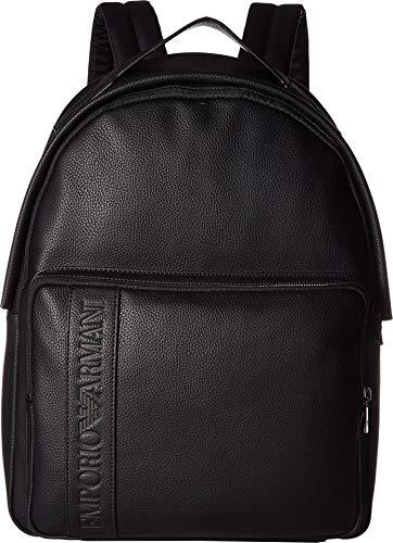 - Emporio Armani Men's Grain Backpack Black One Size