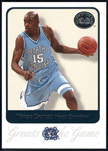 Vince Basketball Carter (Basketball NBA 2001 Fleer Greats of the Game #73 Vince Carter)