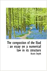 Iliad, book 1. With an essay on Homeric grammar and notes by D.B ...