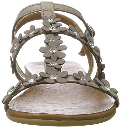 Grey Inuovo T Sandals Strap Women's 7355 Grey w66BHX4