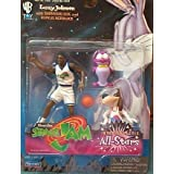Space Jam - Larry Johnson with Barnyard Dog and Bupkus Nerdluck by Space Jam