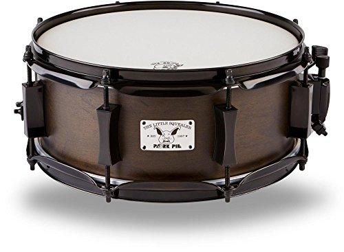 5 Snare (Pork Pie Snare Drum 5x12 Little Squealer Black with Black Hardware)