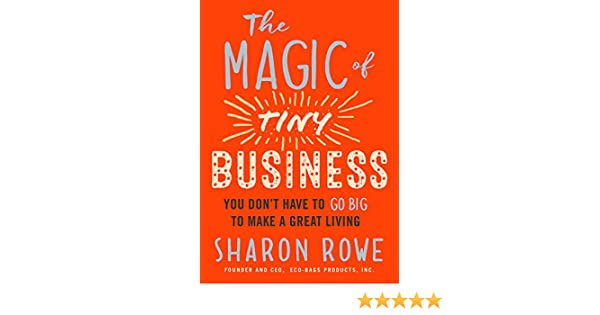 The Magic of Tiny Business: You Dont Have to Go Big to Make a Great Living (English Edition)