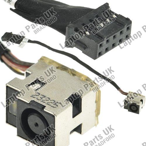 HP Pavilion DV7-7000, DV7-7100, DV7-7200, DV7-7300, DV7T-7000, DV7T-7200, DV7T-7300 DC Power Jack, Prise de courant continu avec câ ble, Connecteur de prise de charge de prise p/n: 678225-FD1, 678225-SD1, 678225-YD1, 681974-001 Laptop Parts UK