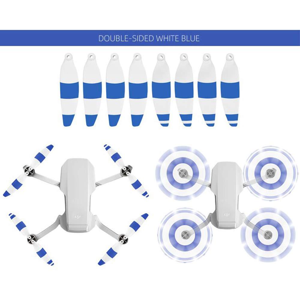 Flycoo2 4pares 4726F H/élices para dji Mavic Mini Drone Cuchillas Lames H/élices Accesorios 8 Piezas