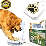 Scuddles Dog Drinking Water Fountain Step On - Outdoor Auto Pet Water Dispenser System for Fresh Water - Suitable as Large or Small Dog Water Fountain Feeder Automatic - Easy to Use Sturdy Build