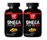 Natural omega 3 fish oil best seller - OMEGA FISH OIL 8060 - Fish oil omega 3 extra strength - 2 Bottles 120 Softgels