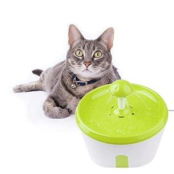 PROKTH | Fuente de Agua Potable para Perros y Gatos, dispensador de Agua para Mascotas de ...