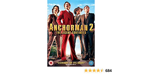 Anchorman 2: The Legend Continues DVD 2013 by Will Ferrell ...