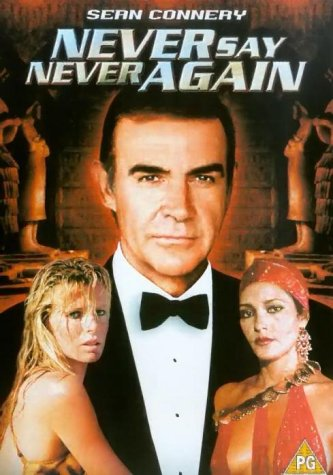 Poster of Never Say Never Again 1983 Full Hindi Dual Audio Movie Download BluRay 720p
