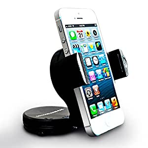 Do Good Have Fun™ mobile phone car mount Rotates 360 Degrees ­Swivels 180 Degrees car phone holder fits most cell phones