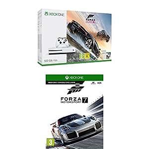 Xbox One - Pack Consola S 500 GB Forza Horizon 3 + Forza Motorsport 7