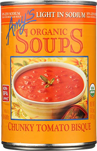 (NOT A CASE) Organic Soup Chunky Tomato Bisque Light in - Tomato Chunky Organic Bisque