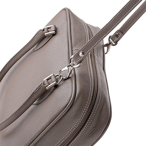 DuDu, Borsa a spalla donna grigio grigio Taille Unique