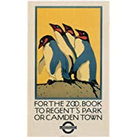 London Underground - For The Zoo 1921 - LU034 Satin Paper A3 Size