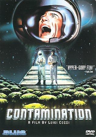 DVD : Contamination (aka Alien Contamination) (Remastered, Digital Theater System, Dolby)