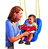 Little Tikes 2-in-1 Snug n Secure Swing, Blue