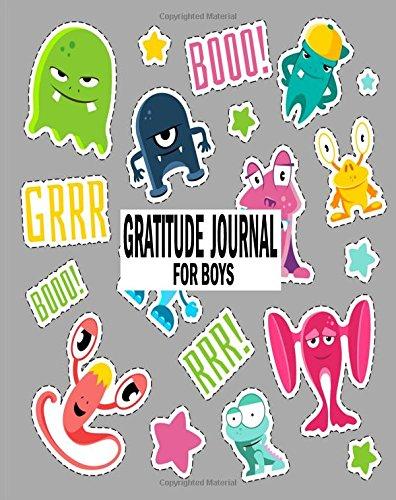 Gratitude Journal For Boys: Prayer Journal For Kids Thankful 8x10 (Volume 16)