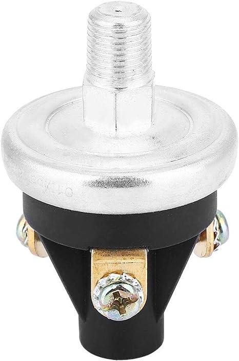 KEYREN Interruptor de Alarma de Baja presi/ón de Aceite 309-0641-03 Interruptor de Alarma de Baja presi/ón de Aceite de Salida de Tres Hilos Rosca de 1//8-27 NPT