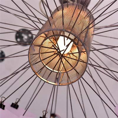 FidgetGear Dia.120cm Ingo Zettel'z 5 Paper Zettel LED Ceiling Light Pendant Lamp Chandelier by FidgetGear (Image #3)