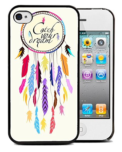 Coque silicone BUMPER souple IPHONE 5/5s - Dream catcher Attapre-rve capteur motif 1 DESIGN case+ Film de protection OFFERT