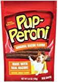 Pup-Peroni Bacon Flavor Dog Snack, 5.6-Ounce Pouches (Pack of 8), My Pet Supplies