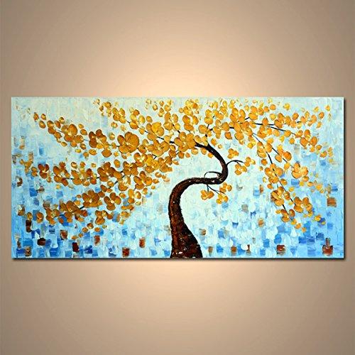 【モダン油絵工房】 油絵 現代絵画 手書きモダン油絵 ナチュラルライン 木A 2FAE-1167 120×60cm B01N7SQYQR木A