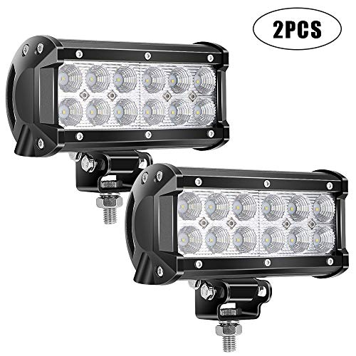 TURBO SII Pair 7 Inch Led Work Light bar 36w 3200LM, used for sale  Delivered anywhere in Canada