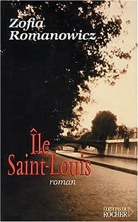 Île Saint-Louis par Zofia Romanowicz