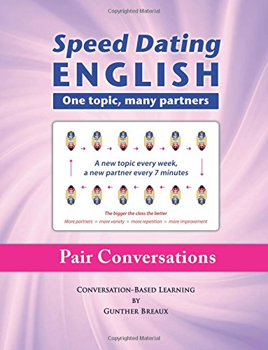 Speed Dating English topic partners product image