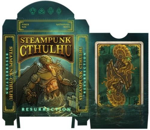 Steampunk Cthulhu Resurrection Playing Cards 3